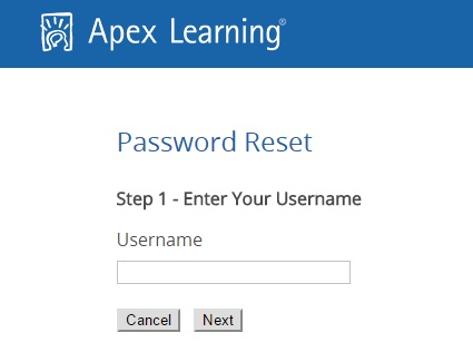 In case you lose your password, you can easily recover it via the Apexvs Learning password recovery tool.