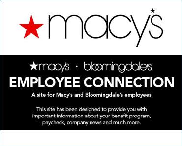 Macys Insite Employee login