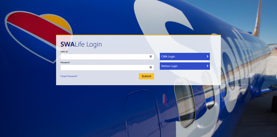 SWALife employee login