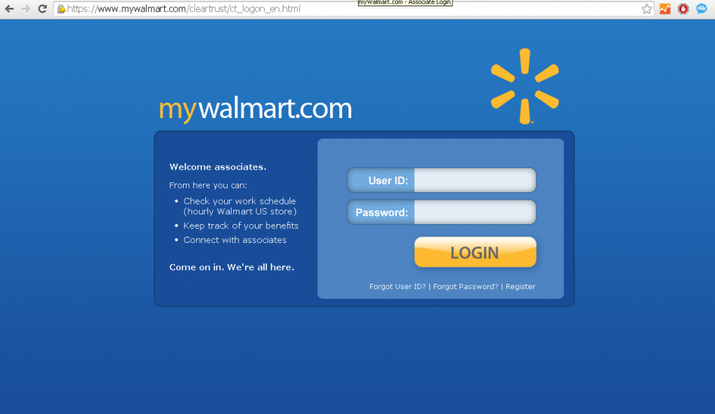 Walmart Employee Login Guide At Www Mywalmart Com Login Oz