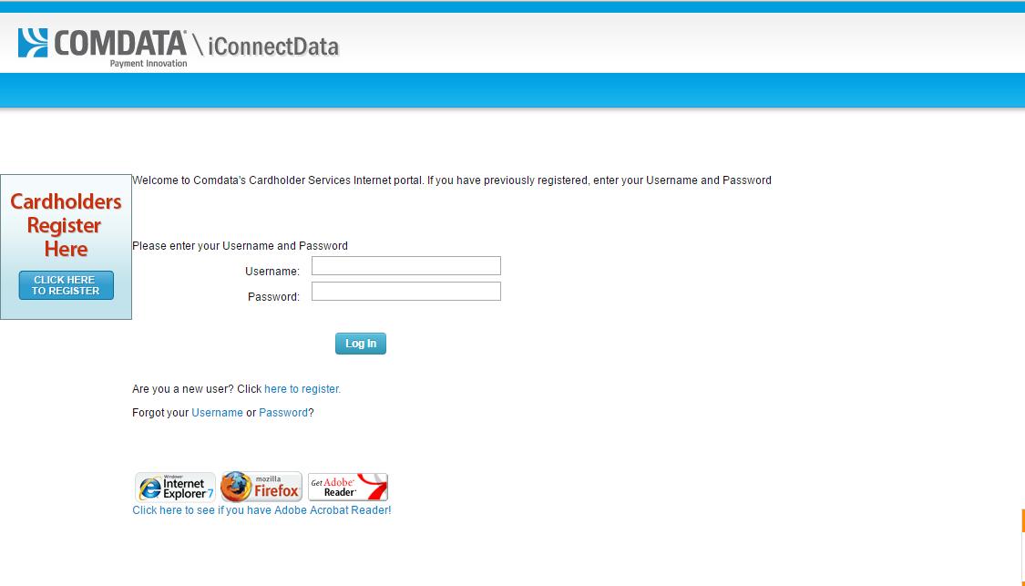 Comdata Login Guide Portal