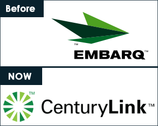 Embarq and Century Link Logos