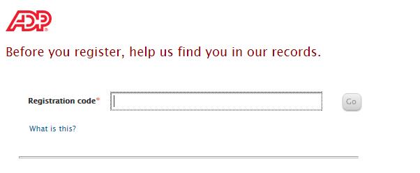 ADP Card login registration.