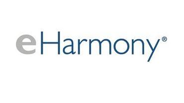 eHarmony login company logo.