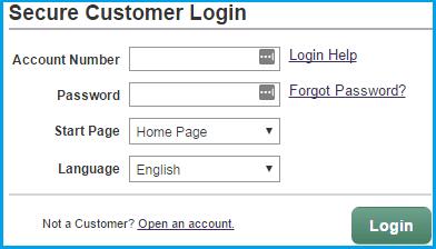 Scottrade login page screenshot.