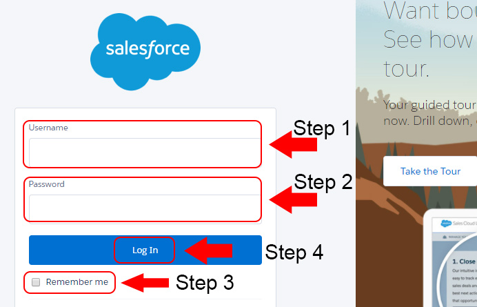 salesforce account login