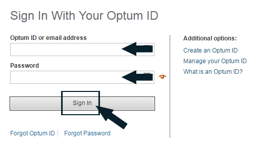 OptumRX Login Guide Step 2