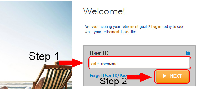 bcomplete retirement service login