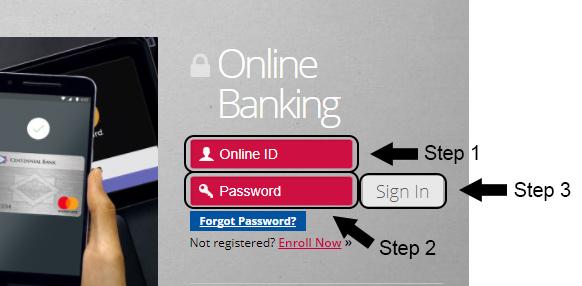 centennial bank online banking login