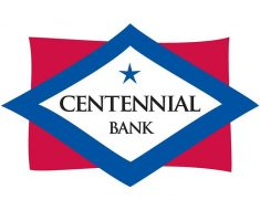 logo of centennial bank