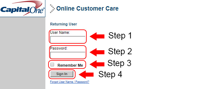 capital one hrs login
