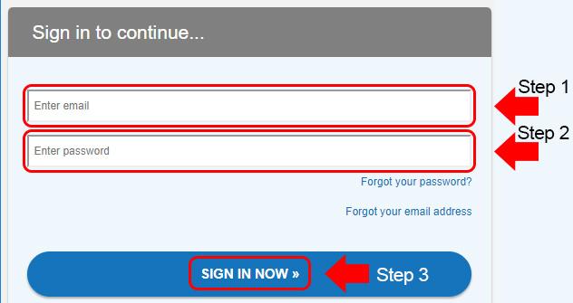singlesnet login menu