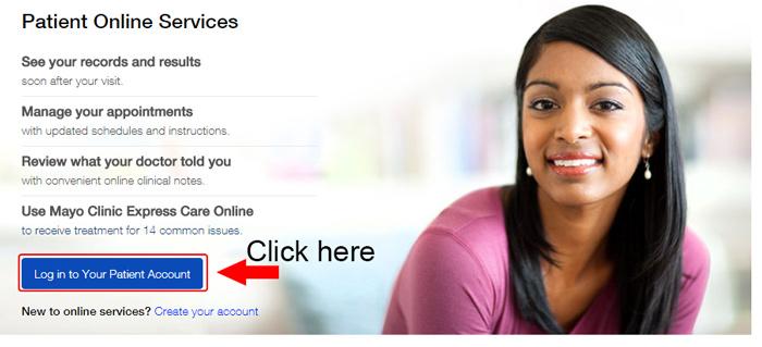 mayo clinic homepage