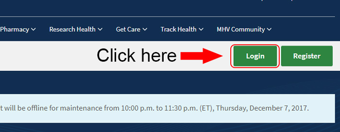 my healthevet homepage