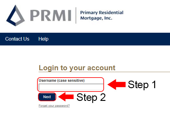 prmi account login