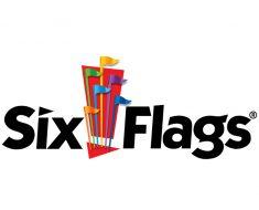 logo of six flags
