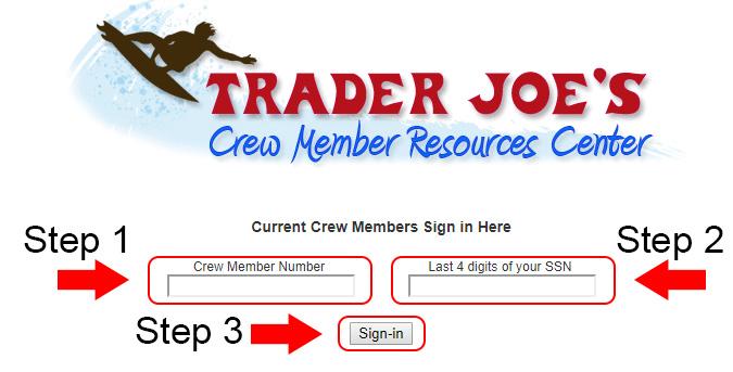 trader joes employee login