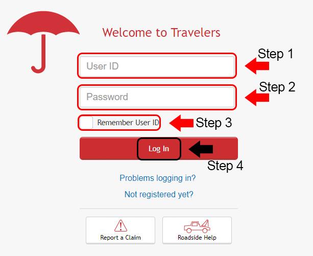 travelers insurance members login