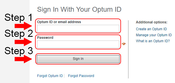 united healthcare optum login