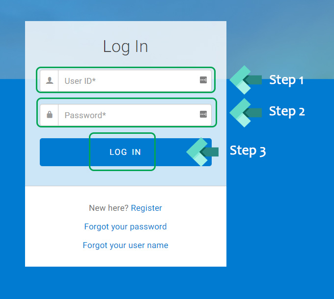 my ccpay login page