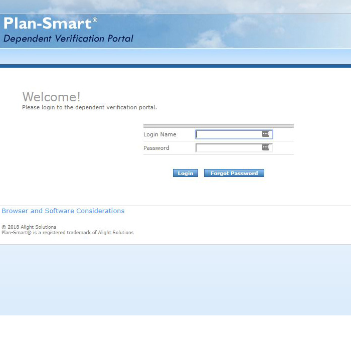 Plan Smart Dependent Verification